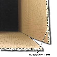 BEUFIRST Pack de 10 cajas de cartón con asas (Tallas M, XL, XXL). (550x350x350mm - XL). Cajas para mudanzas, almacenaje y transporte ultraresistentes. Canal doble 5 capas reforzado y cartón ecológico: Amazon.es: