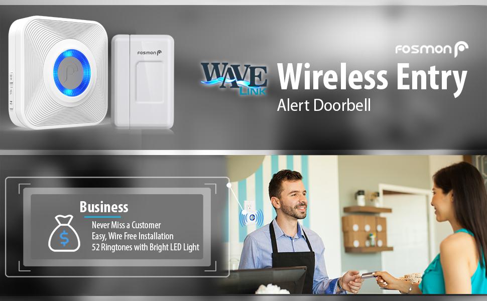 entry alert door bell