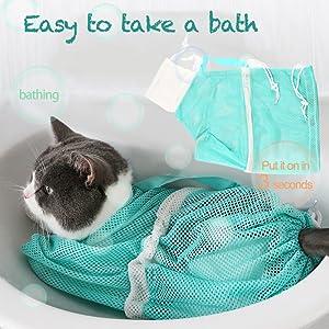 easy to take a bath