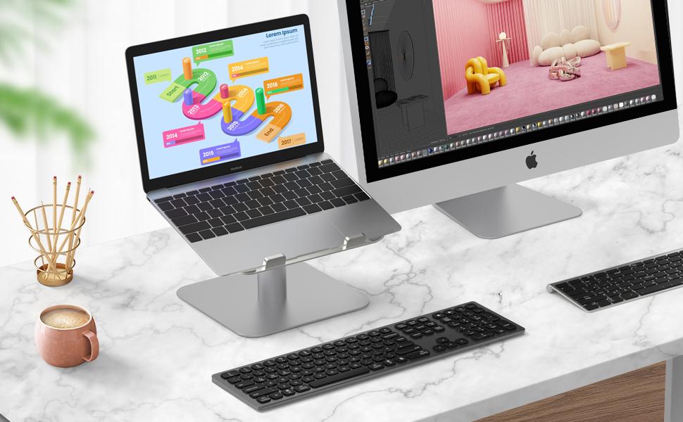 macbook pro stand laptop lap desk  laptop tray laptop desk stand Laptop Stand Adjustable laptop moun