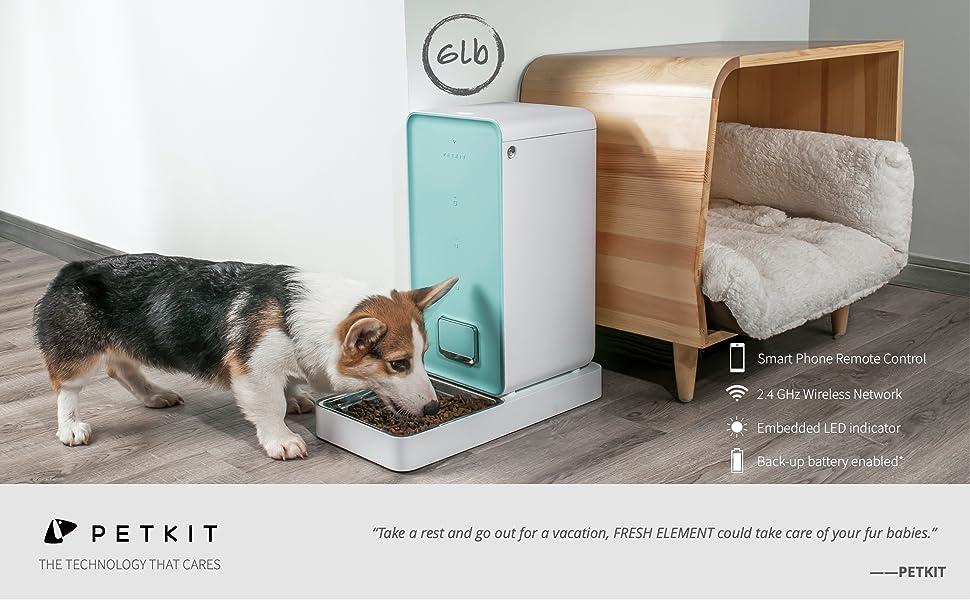 petkit wifi feeder alexa feeder cat feeder dog feeder dog food disoenser automatically