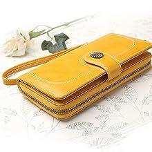 yellow wallets