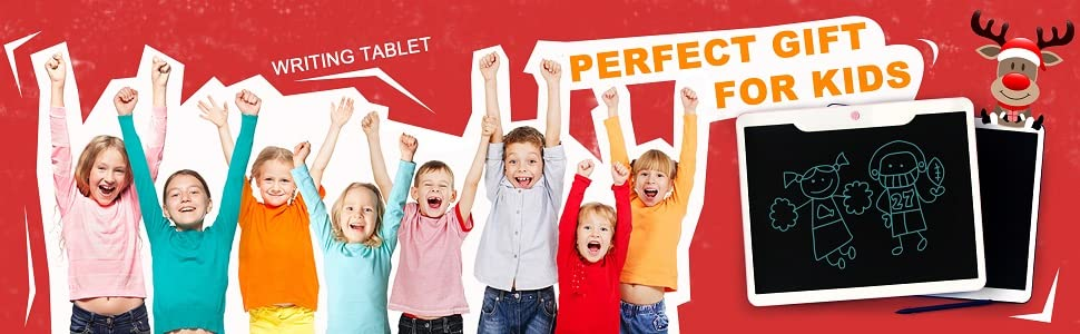 JONZOO LCD writing tablets is great gift for all ages.