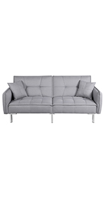 3 Seater Fabric Sofabed