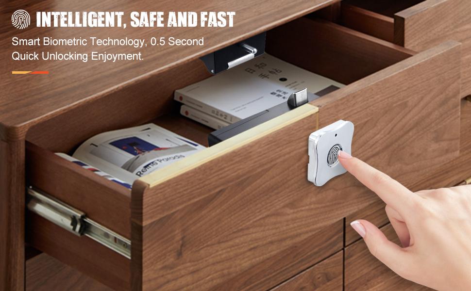 drawer lock cabinet