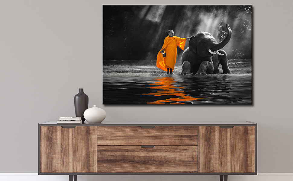 THAILAND HEART CANVAS WALL ART PICTURE PRINT VARIETY OF SIZES FREE DELIVERY