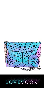 Geometric Luminous crossbody bag