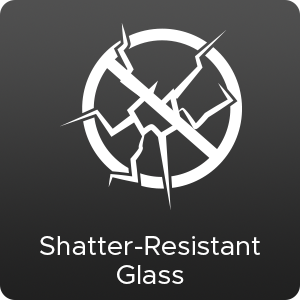 Shatter Resistant Glass Mirrors