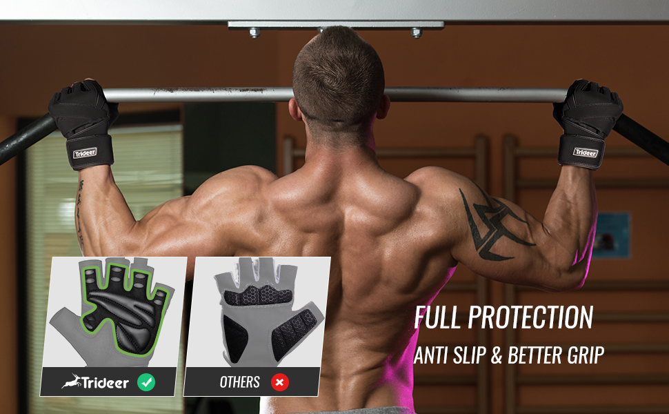 weight lifting gloves for men