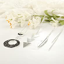 womens long necklace