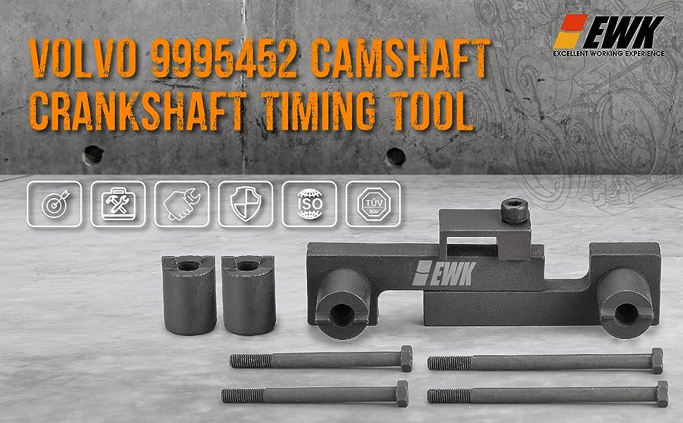 Juego de herramientas de sincronizaci/ón del motor Material del acero al carbono Distribuci/ón del /árbol de levas para