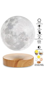 magnetic levitating moon lamp, floating moon lamp