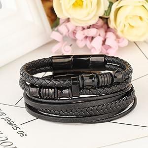 magnetic cuff bracelet for men mens ankle bracelet mens' bracelets mens large bracelets