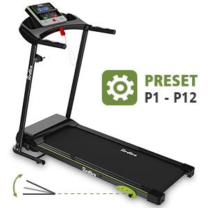 Three Manual Adjustable Inclines treadmill