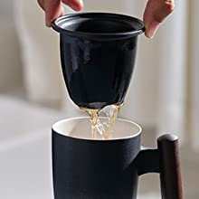Lift the infuser