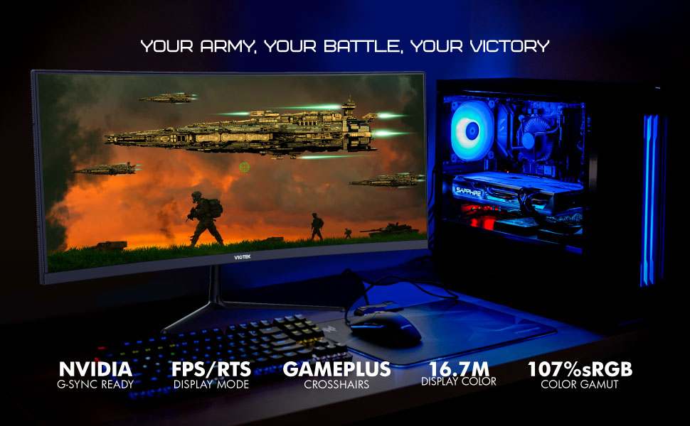 YOUR ARMY, YOUR BATTLE, YOUR VICTORY