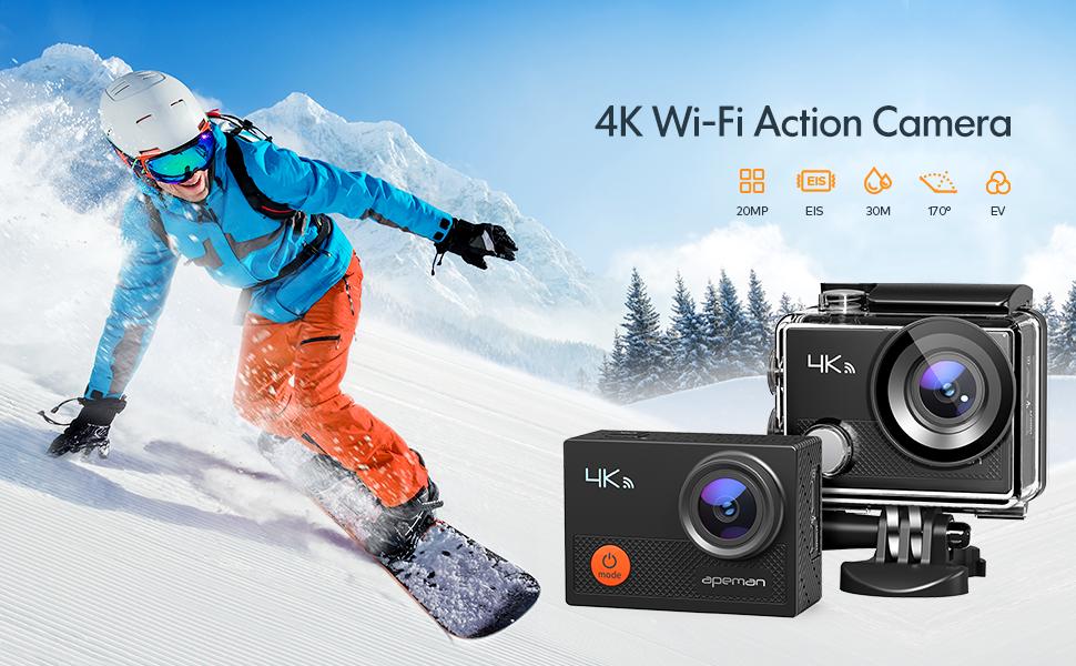 Action camera sport camera vlogging camera