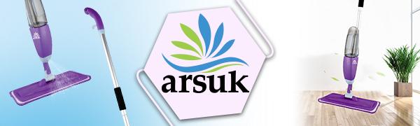 ARSUK est une marque bien établie pour les produits Trigger Spraying Mop