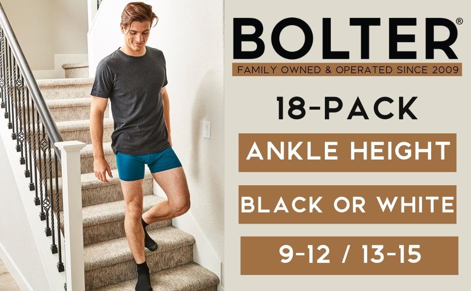 mens ankle height socks quarter crew black comfy bulk pack wholesale sizes big large larger white