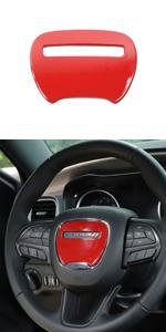 Voodonala Steering Wheel Trim for 2015-2020 Dodge Challenger Charger