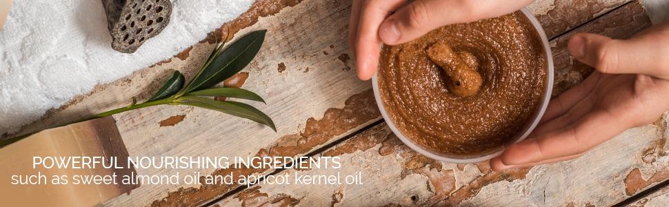 majestic pure brown sugar scrub body natural essential oil exfoliate exfoliator scrubber bestselling