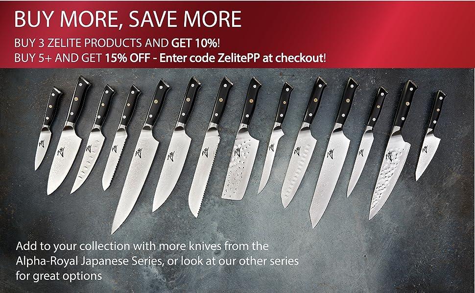 zelite infinity chef knives chef knife japanese damascus german superb edge retention razor sharp