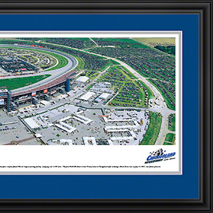 Chicagoland Speedway with deluxe frame