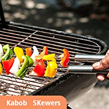 4 Kabob Skewers
