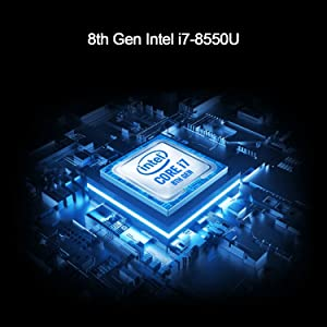 8th Generation Intel Core i7-8550U Processor