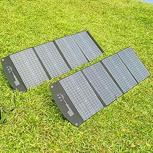 120 Watt portable Solar Panel Charger Kit for Portable Generator power station