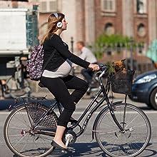 bicicletta donna con cestino bici cane kg trasportino per cani cesto anteriore portapacchi da