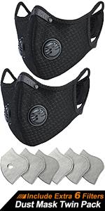 BASE CAMP Dust Breathing Mask