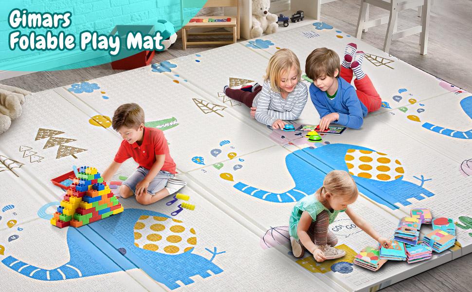 Gimars folding portable baby play mat
