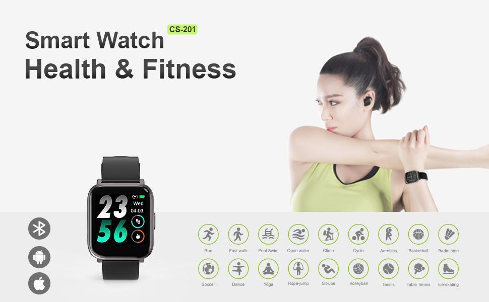 Health & Fitness Smartwatch