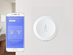 Bluetooth temperature sensor, humidity sensor