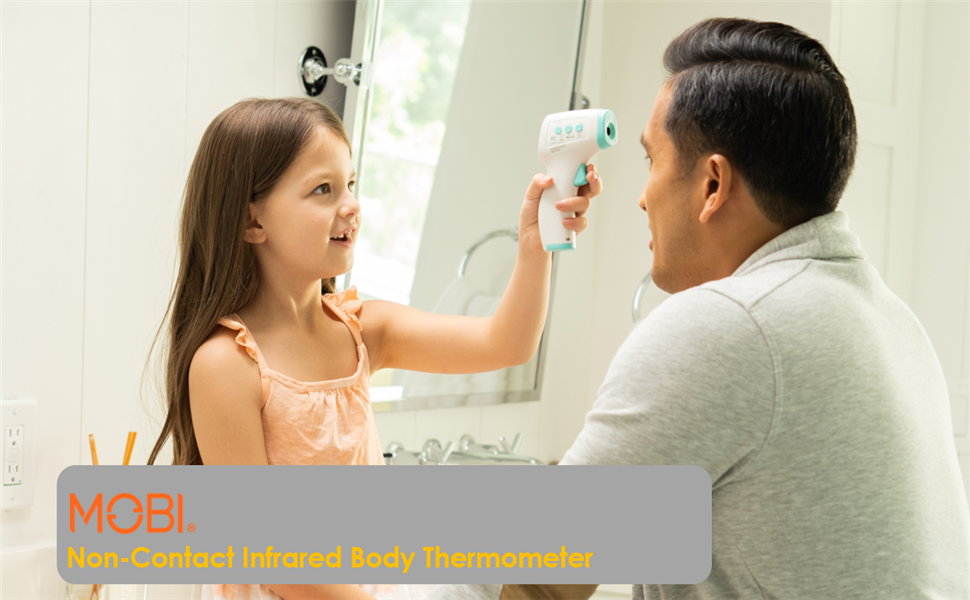 Touchless forehead thermometer kid med infrared gun fever deal day alarm contact digital