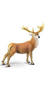 toy deer,deer figure,safari animal toy
