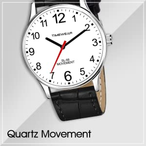 TIMEWEAR Analog White Dial Black Strap Watch for Men - 253WDTG SPN-FOR1P Prime day submission