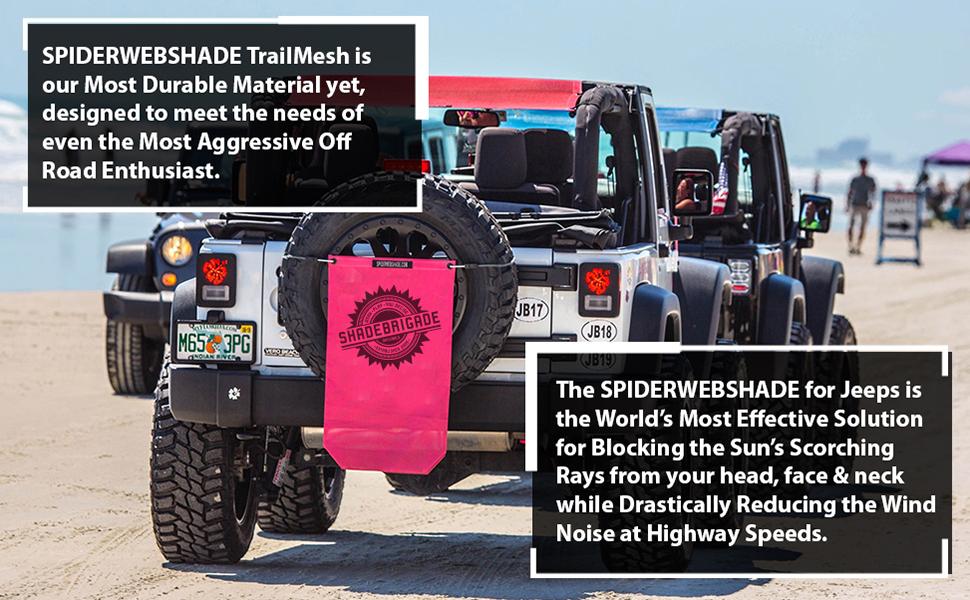 Spiderwebshade Jeep Accessories TrailMesh Bag