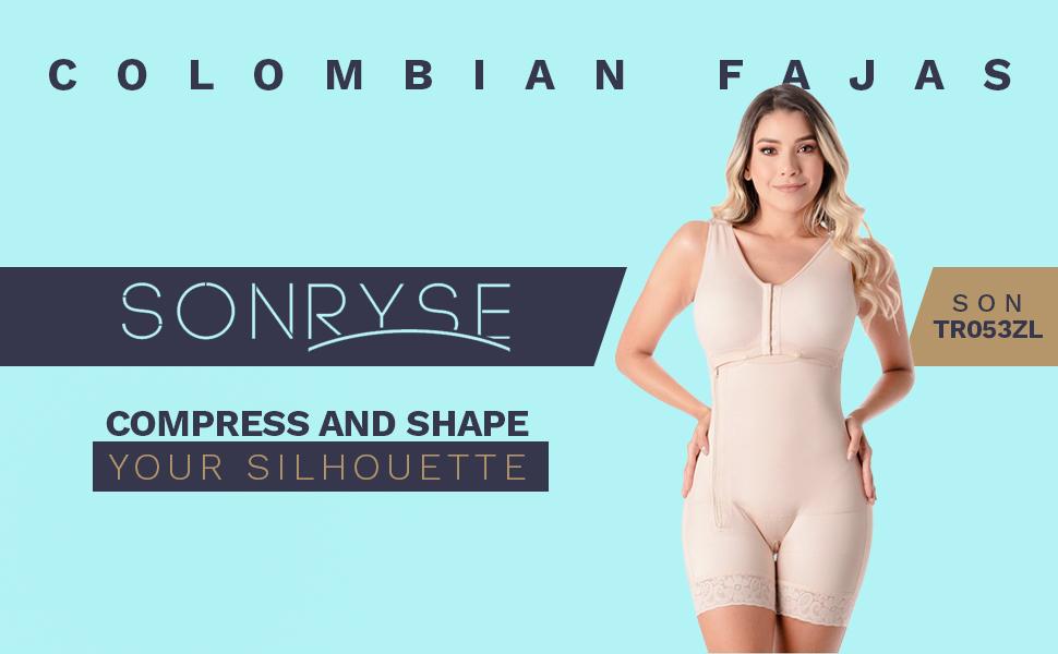 Sonryse Fajas Colombianas Reductoras y Moldeadoras Butt Lifter Shapewear
