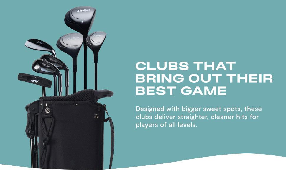beginner left handed golf clubs, beginner golf clubs, beginner golf clubs for kids, golf, clubs