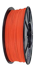 Autumn Orange PLA 3D Printing Filament