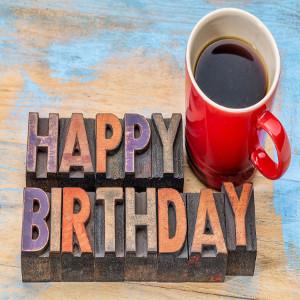 Birthday Coffee