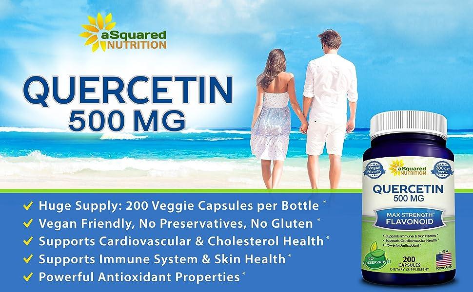 Quercetin 500 mg 1000mg 1000 vegan non-gmo natural resveratrol Liposomal Vitamin C D3 K2 D