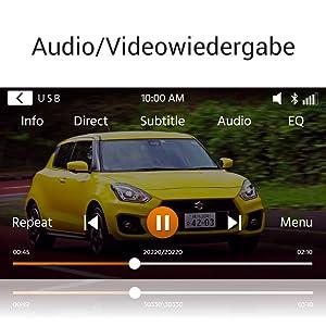 Xzent X-227: Medienwiedergabe via USB, micro SD-Karte, HDMI oder Smartphone