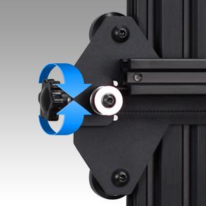 Integrated Belt Tensioner