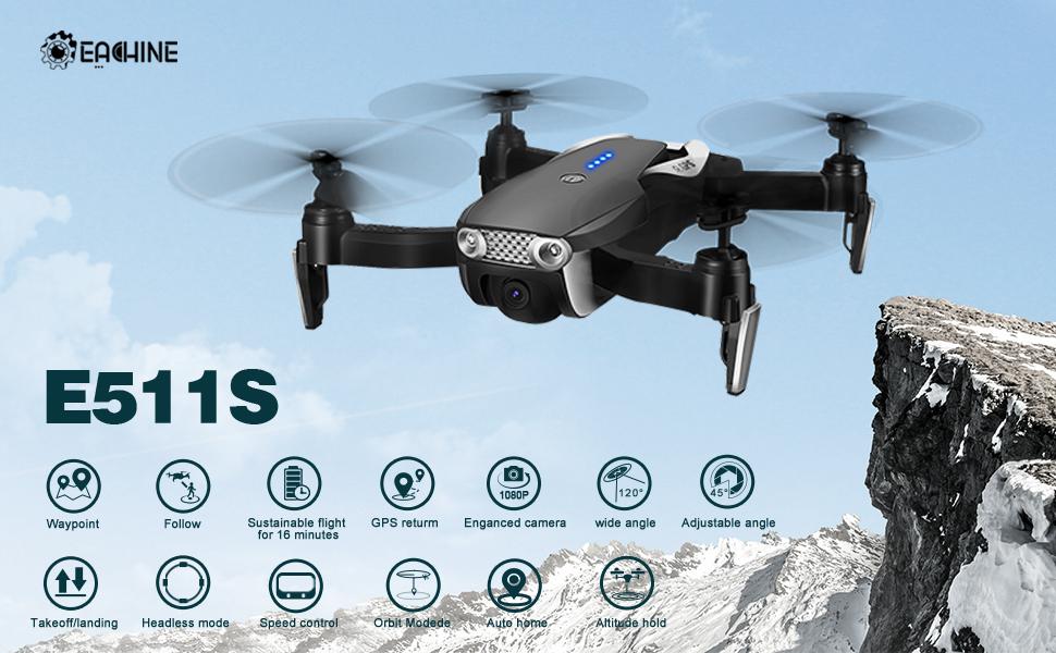 EACHINE E511S Drone with 1080P Camera