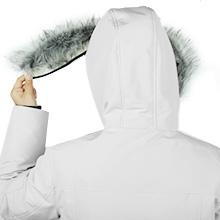 Removable Fur Hood