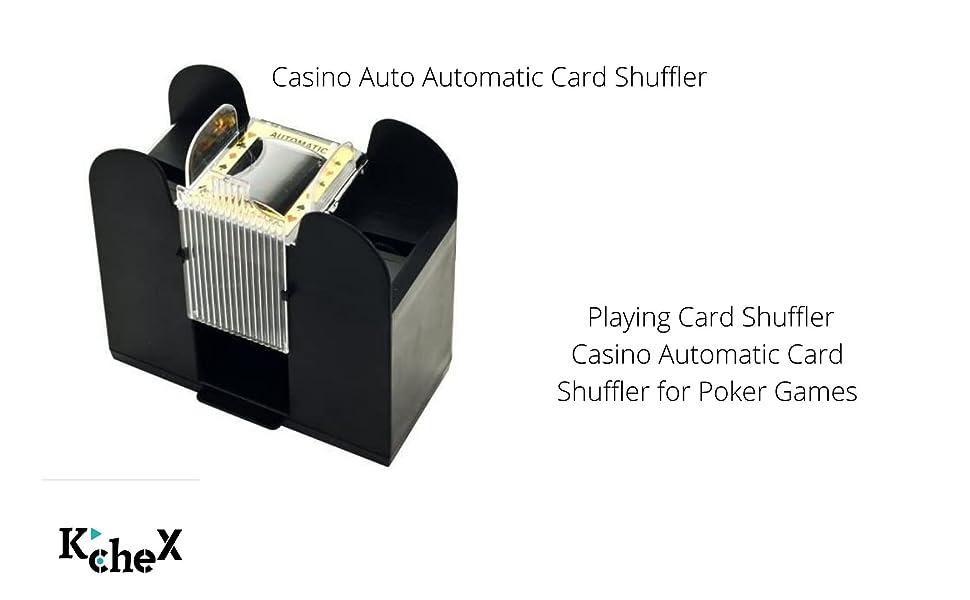 Casino Auto Automatic Card Shuffler Playing Card Shuffler Casino Automatic Card Shuffler for Poker