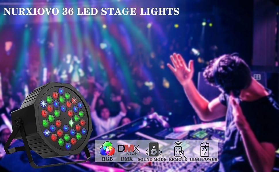 stage uplight par light